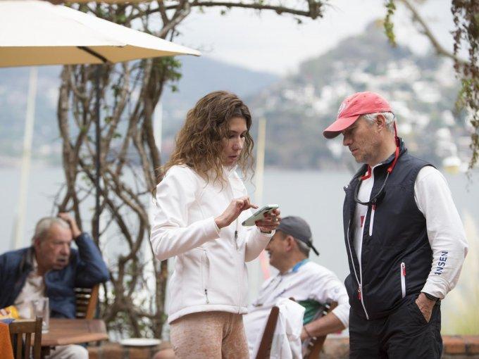Mariana Via y Pablo Guzmán