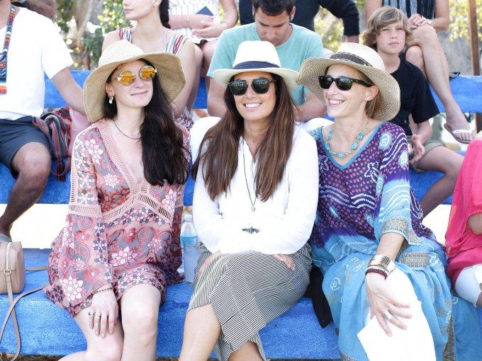 Becca Congdon, Lulú Luchaire y Victoria Dearing