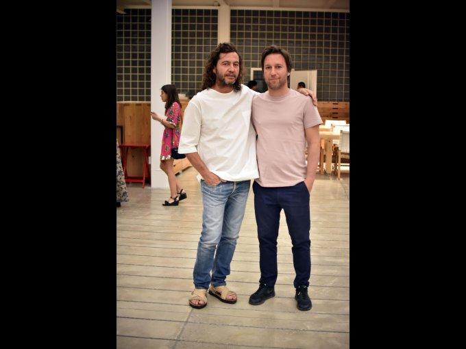 César Cervantes y Abel Perles