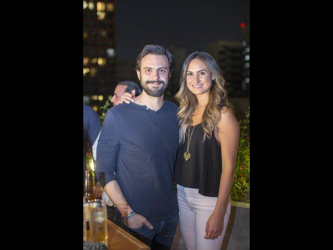 Miguel Ángel Uriegas y Ana Paula Cortés
