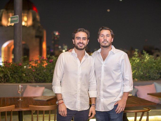 Jorge Salim y Javier Hernández Pons