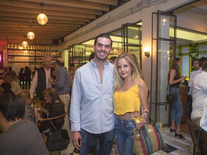 Ivo Palafox e Ingrid Parresh