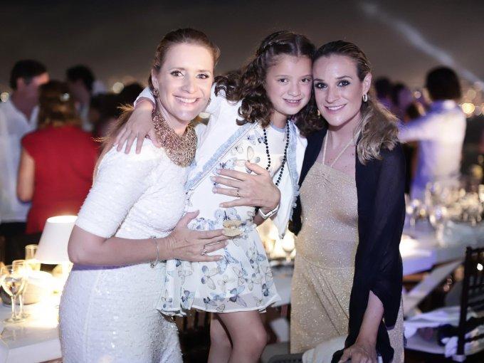 Begoña García, Carolina Leyva y Cristina García