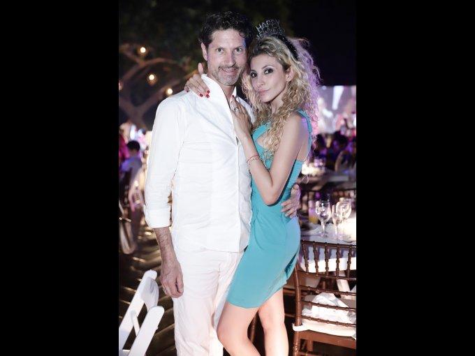 Fernando Ocha y Amira Atala