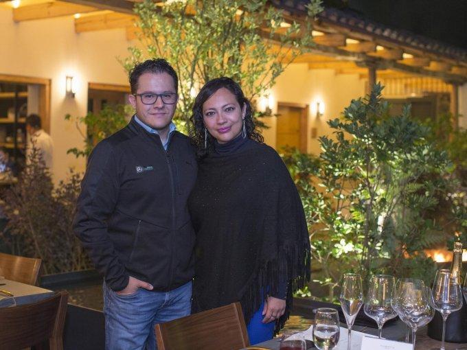 Roberto Flores y Luz del Carmen Cano