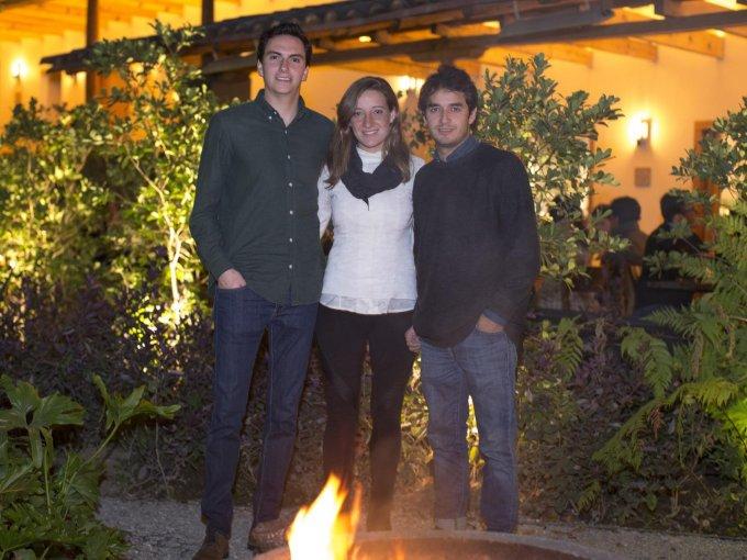 Francisco Rivas, Daniela Blix y Rodrigo Alonso