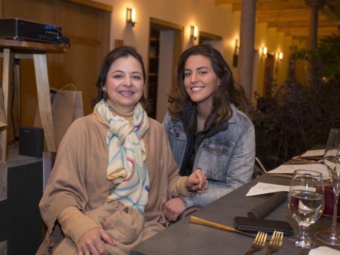 Alejandra Guizar y Carolina Escudero