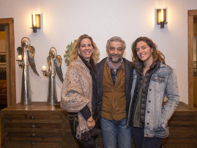 Cristina Escudero, Alejandro Escudero y Carolina Escudero