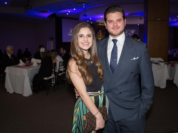 Andrea Dib y Guillermo Christy