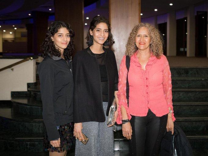 Astrid Hernández, Pamela Hernández y Astrid Hernández