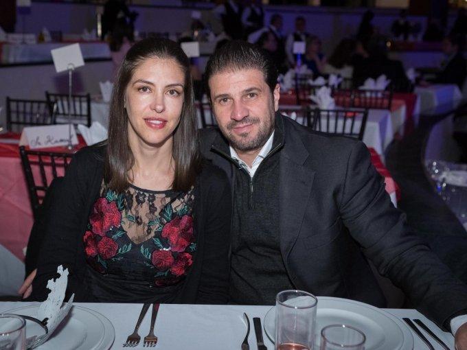 Gina Noriega y José Bretón