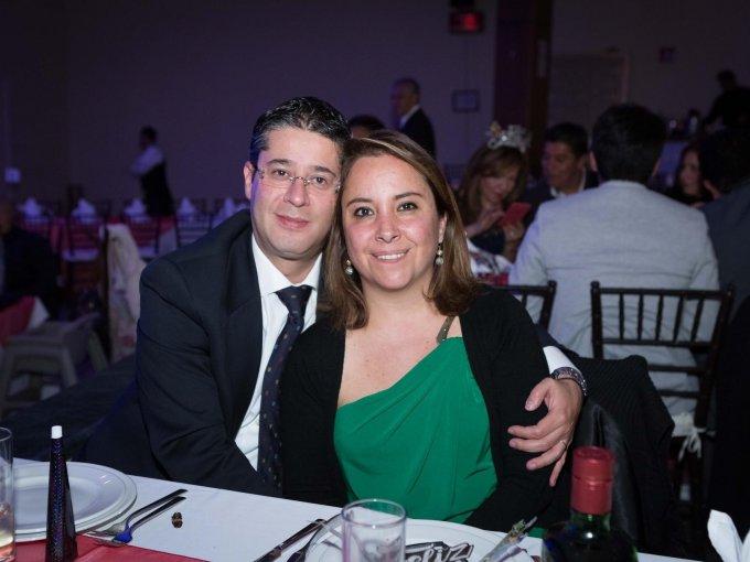 Eduardo Villa y Fernanda Villa