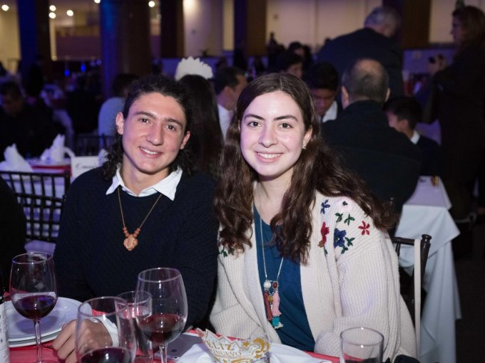 Emilio Chaubet y Alexa Chaubet