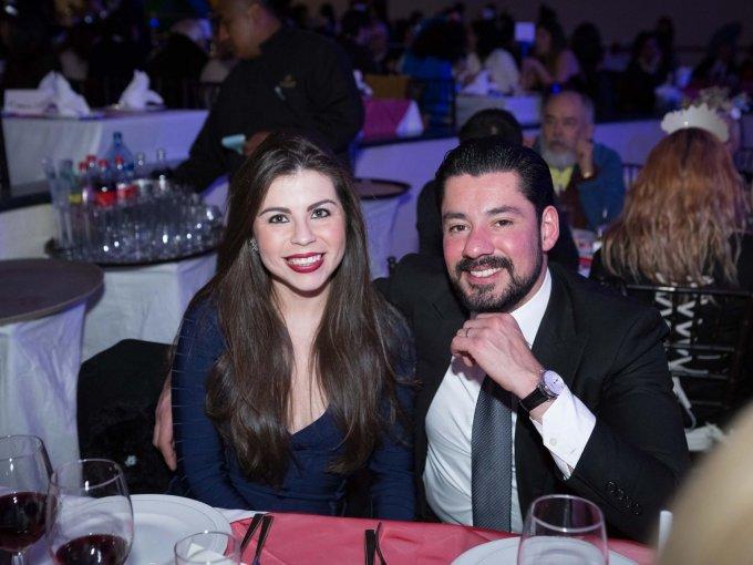 Aurora López Portillo y José Razzo