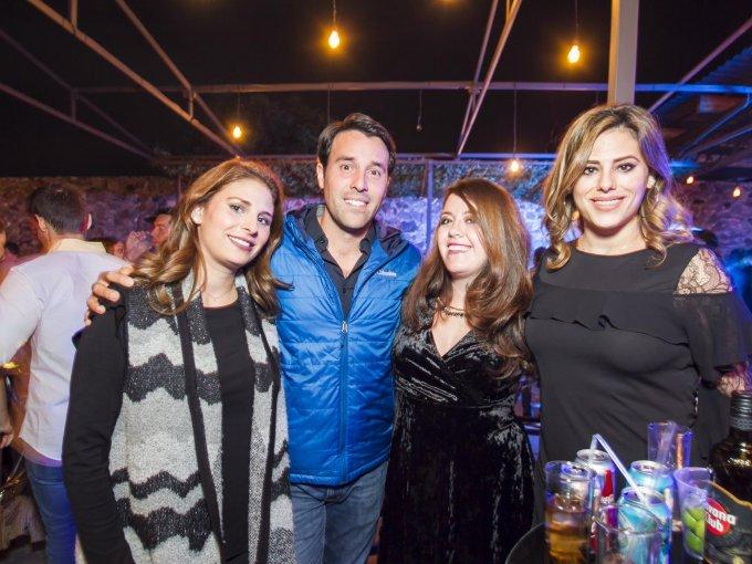 Melissa Carrillo, Andrés Uriarte, Cristina García y Mariana Carrillo
