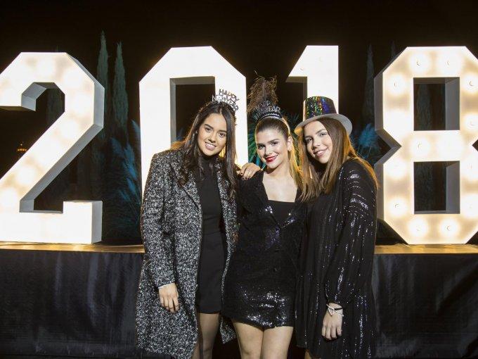 Mariana Flores, Angelina Cantú y Daniela García