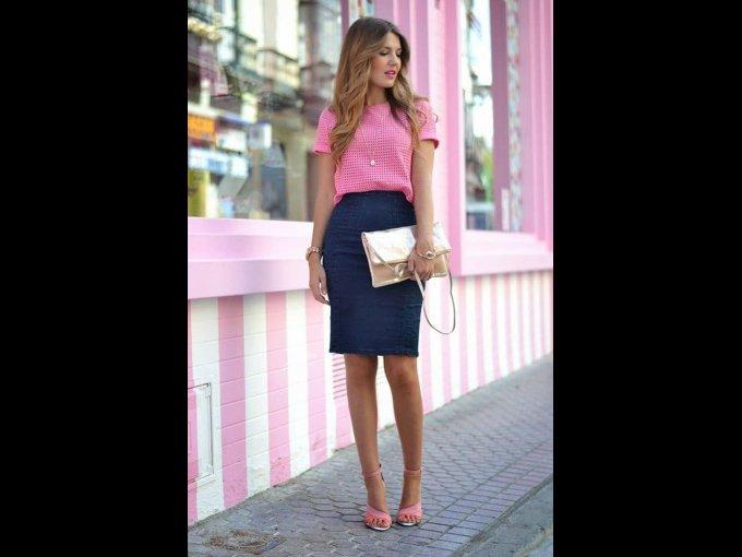 Un look muy dulce en rosa