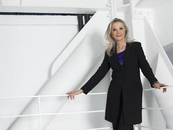 35. Gina Diez Barroso: Una imponente personalidad es lo que define a esta apasionada de los negocios, quien fundó la Universidad Centro de Diseño Cine y Televisión, donde impulsa el talento mexicano.