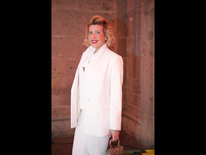 3. Beatriz Pasquel: Con su encantadora sonrisa y mirada celeste, ella siempre acude a los eventos más exclusivos ataviada con looks de impacto.