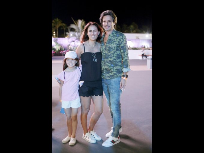 Juliana Cobo, Erika Basave e Ignacio Cobo