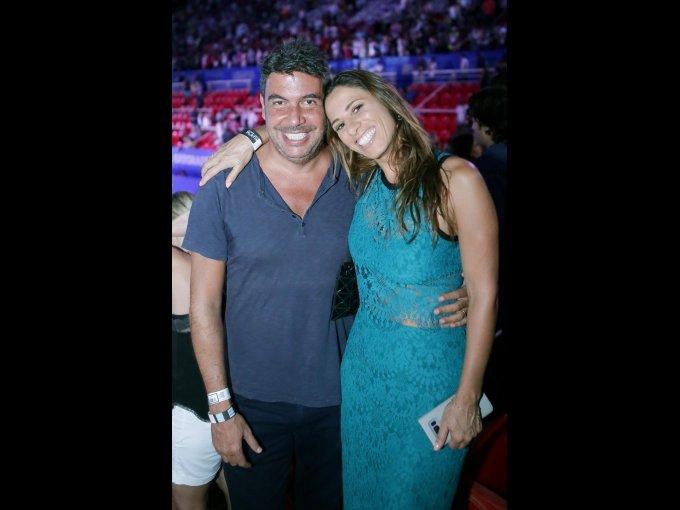Arturo Elías Ayub y Johanna Slim