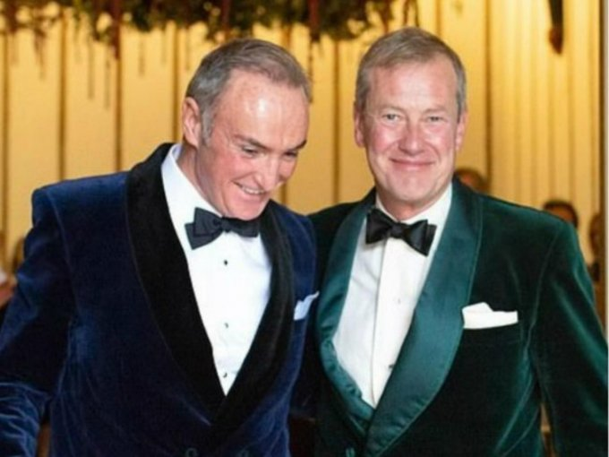 Lord Ivar Mountbatten y James Coyle
