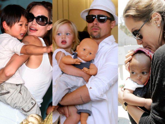 Los hijos de Angelina Jolie y Brad Pitt ya crecieron, y son muy diferentes a como los recuerdas: