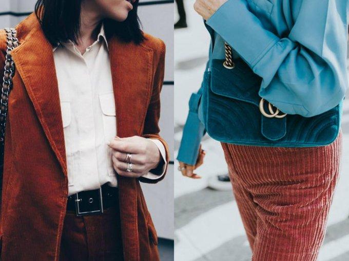 Ideas para usar esa prenda de pana que tienes olvidada: