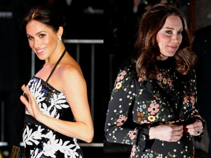 Meghan Markle y Kate Middleton tienen estilos distintos, incluso en la maternidad. Mira las fotos: