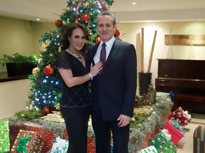 Claudia y Andrés Portillo
