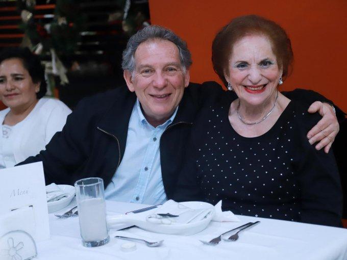 Jaime y Raquel Davison