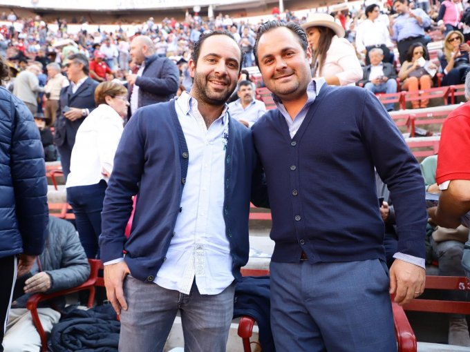 Diego Romero y Pablo Espinoza