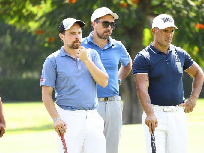 Armando Loera, Andrew Filsinger y Luis Mora
