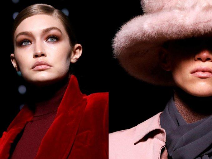 El diseñador utilizó fur falso para su colección. Esto es lo más destacado del desfile:
