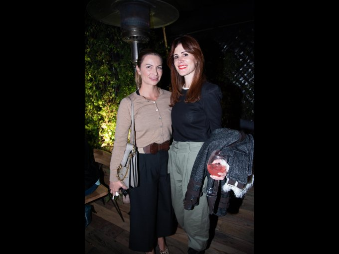 Catalina Buchanans y Galia Katz