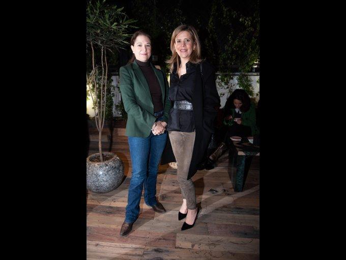 Renata Castro y Claudia Grajales
