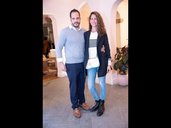 Luis Canal y Eva Cabrera