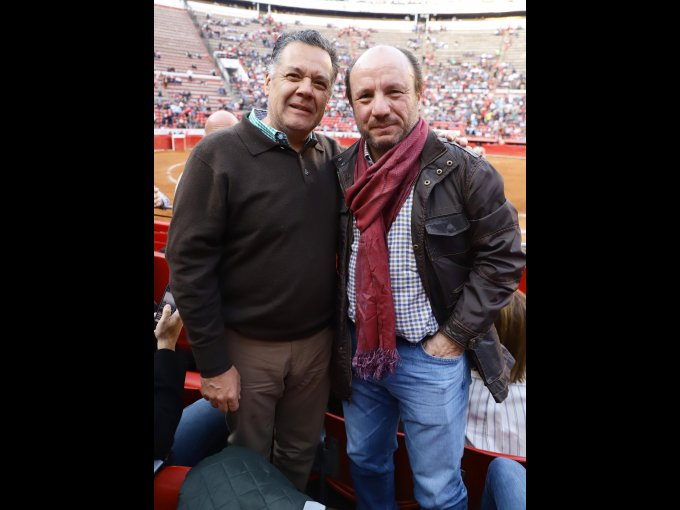 Francisco Sánchez Quintana y Antonio Cosío