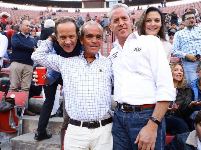 Mauricio Bernot, Pedro Noriega, Pedro Ortiz Monasterio y Mariana Ferretti