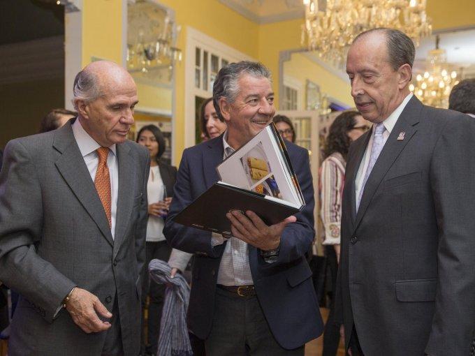 Francisco Mijares, Nacho Urquiza y César Balsa