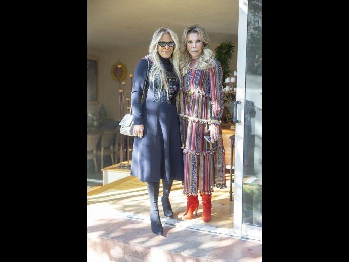 Carmen Cremasco y Chely Lerdo de Tejada