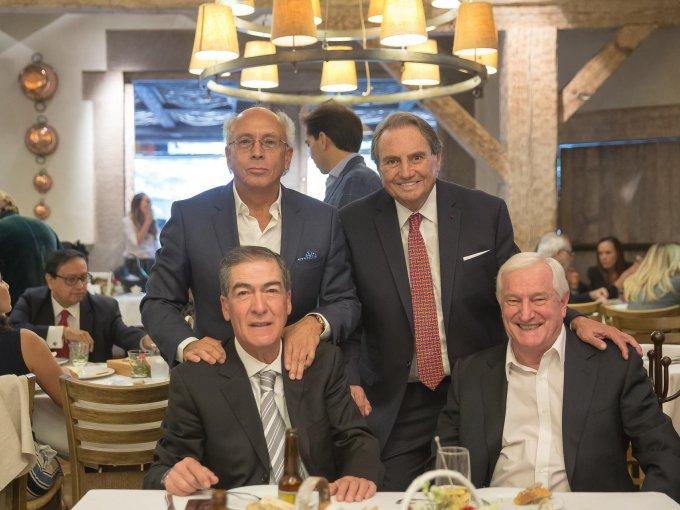 Jaime Aguilera, Rafael Heredia, Luis Suinaga y Carlos Moy