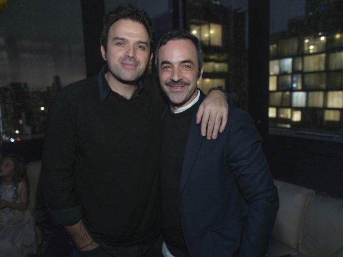 Fernando Rovzar y Jonathan Franklin