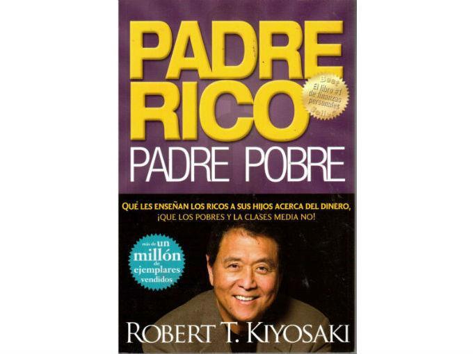 """Vetelia recomienda: Padre rico, padre pobre, de Robert Kiyosaki. """"Es de cajón, es como el Baldor"""". Foto: Especial"""