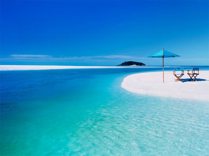 5. Whitehaven Beach Whitsunday Island, Islas Whitsunday.