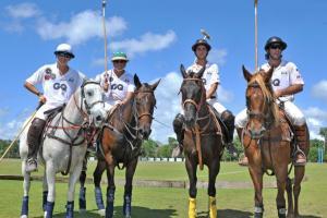 Equipo GQ, Santiago Holch, Ignacio Estrada, Daniel McDonald y Victor Setién.