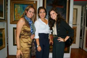 Claudia Ortiz, Daniela Zambudio y Mariana Rubio