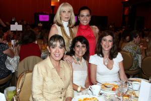 Ana Haime, Martha Nigenda, Martha Valderrama, Sandra González y Beatriz Velasco