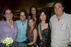 Araceli Cortina, Felipe Fernández del Paso, Carolina Coppel, Yissel Ibarra, Martha Sosa y Cuauhtémoc Cárdenas Batel.