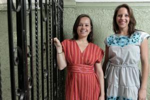 Daniela Gremion y Paola de la Rosa